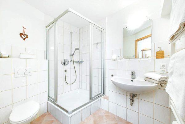 Appartement Walmberg - Helles Bad mit Dusche